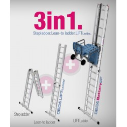 GEDA BATTERY LADDERLIFT